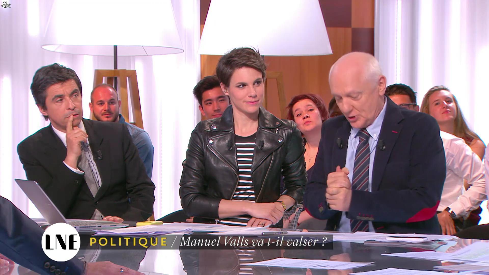 Emilie Besse dans la Nouvelle Edition. Diffusé à la télévision le 26/05/16.
