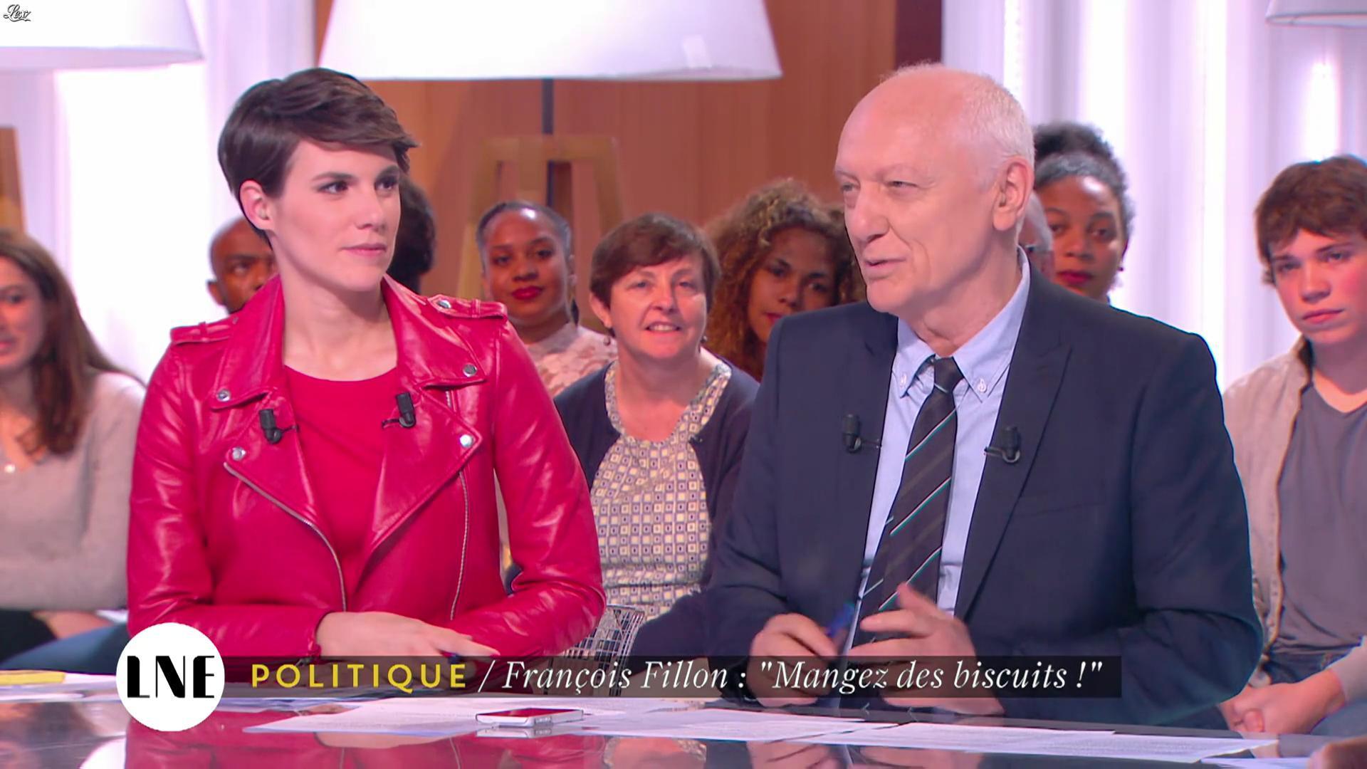 Emilie Besse dans la Nouvelle Edition. Diffusé à la télévision le 31/05/16.