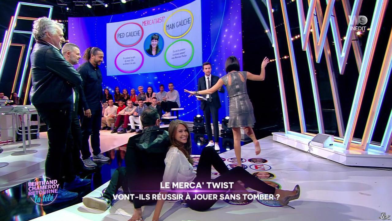 Erika Moulet et Ophélie Meunier dans Bertrand Chameroy Retourne la Télé. Diffusé à la télévision le 23/11/16.