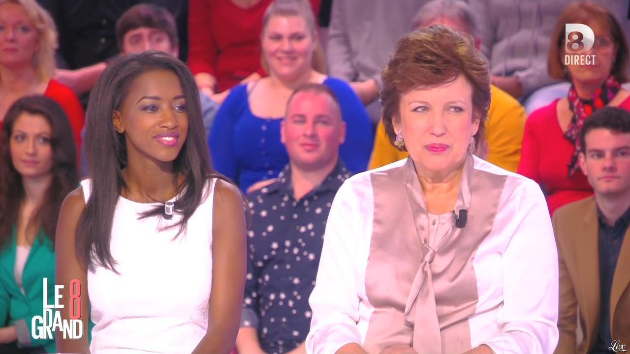 Hapsatou Sy dans le Grand 8. Diffusé à la télévision le 09/03/15.