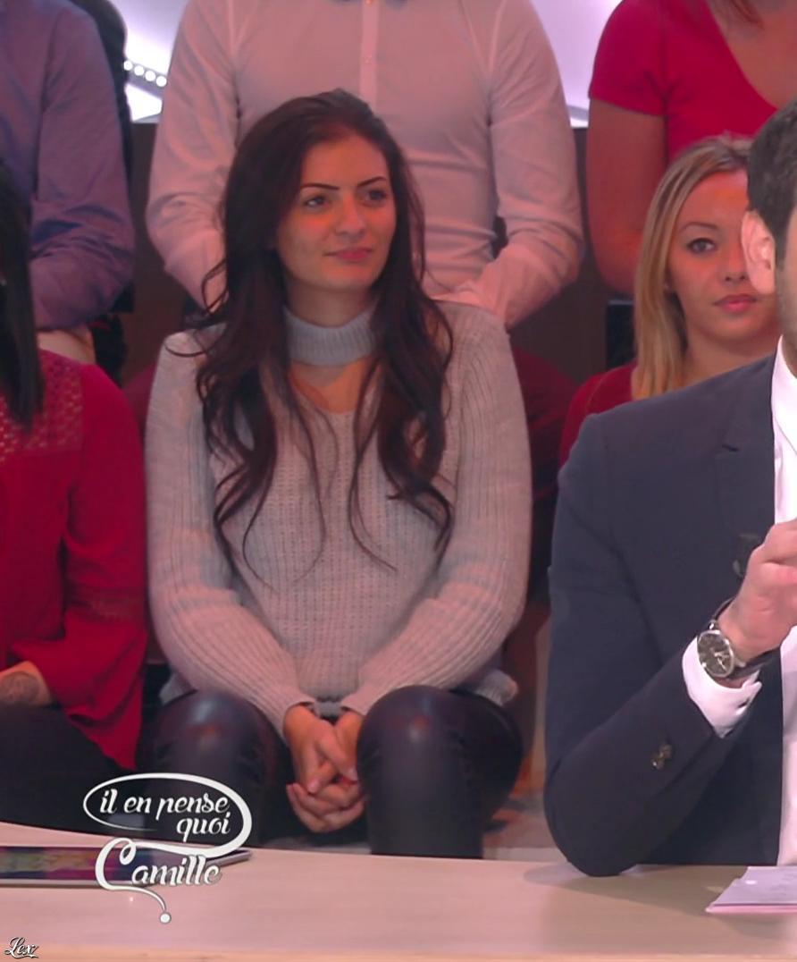 Inconnue dans Il en Pense Quoi Camille. Diffusé à la télévision le 10/11/16.