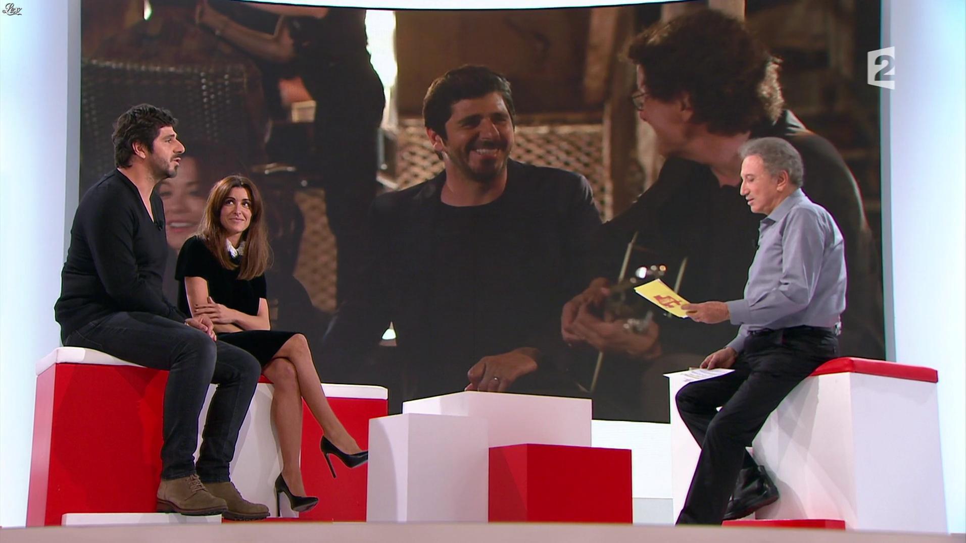 Jenifer Bartoli dans Vivement la Télé. Diffusé à la télévision le 09/10/16.