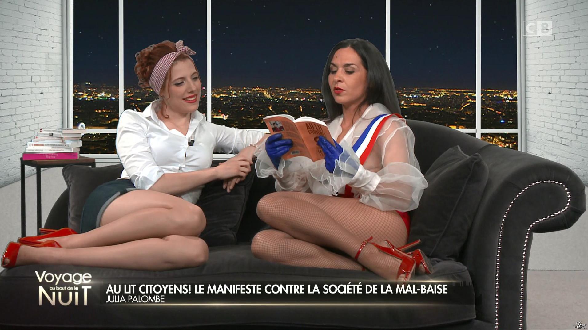 Julia Palombe dans Voyage au Bout de la Nuit. Diffusé à la télévision le 27/10/16.