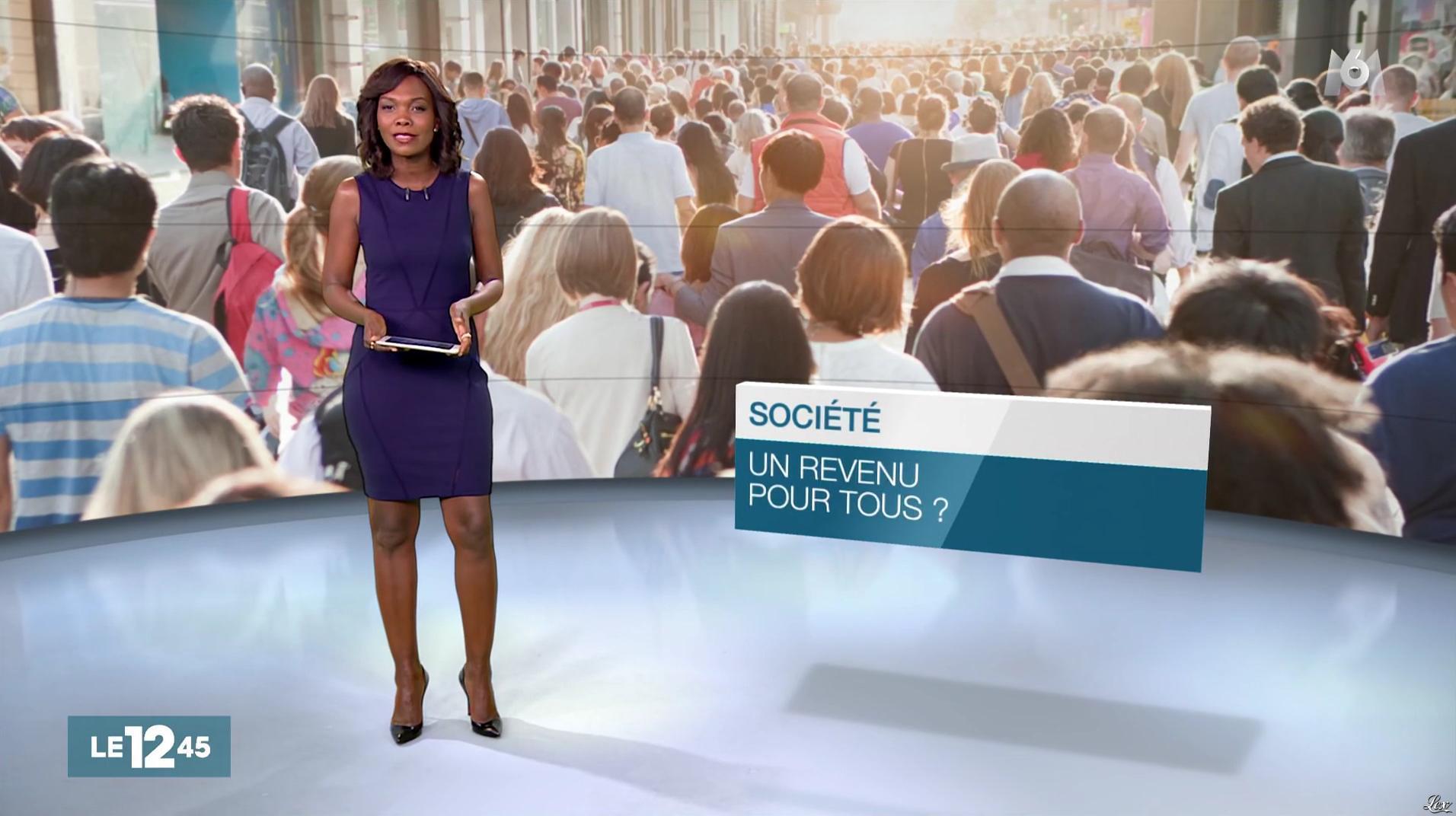 Kareen Guiock dans le 12-45. Diffusé à la télévision le 27/10/16.