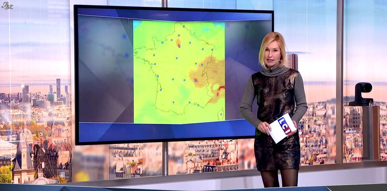 Karine Fauvet dans LCI et Vous. Diffusé à la télévision le 12/12/16.