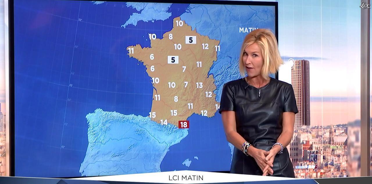 Karine Fauvet dans LCI et Vous. Diffusé à la télévision le 18/10/16.