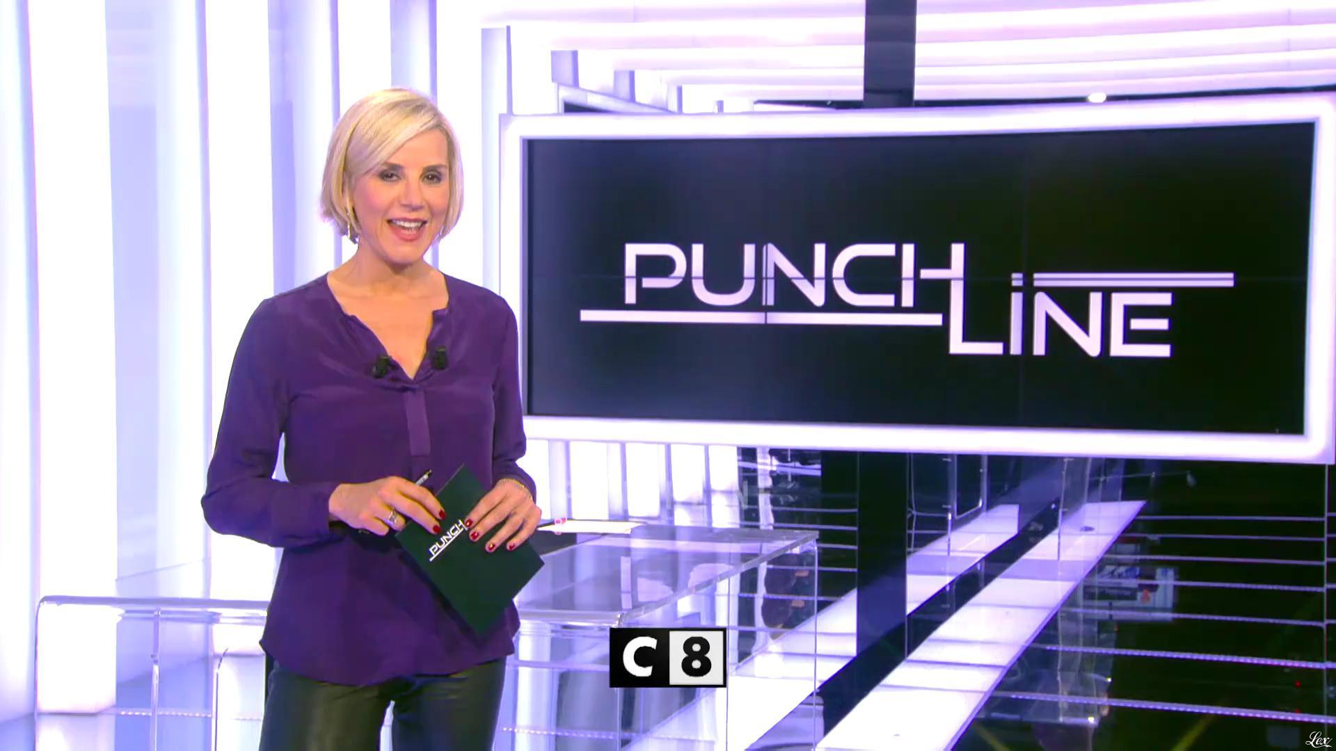 Laurence Ferrari dans une Bande-Annonce de Punchline. Diffusé à la télévision le 22/01/17.