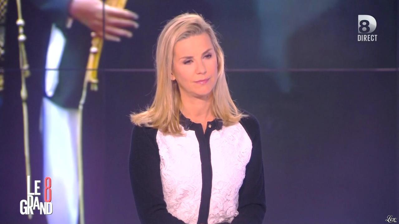 Laurence Ferrari dans le Grand 8. Diffusé à la télévision le 29/01/15.