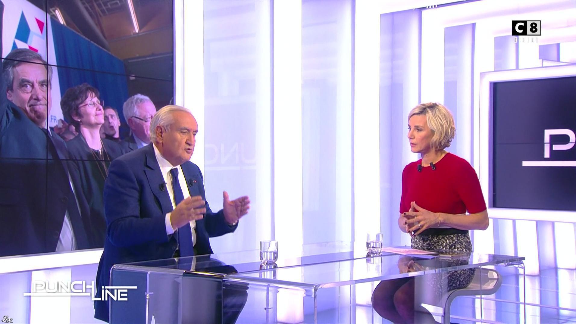 Laurence Ferrari dans Punchline. Diffusé à la télévision le 05/02/17.