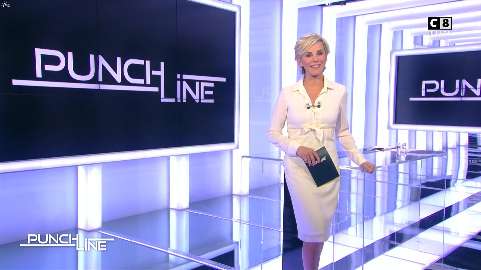 Laurence Ferrari dans Punchline. Diffusé à la télévision le 22/01/17.