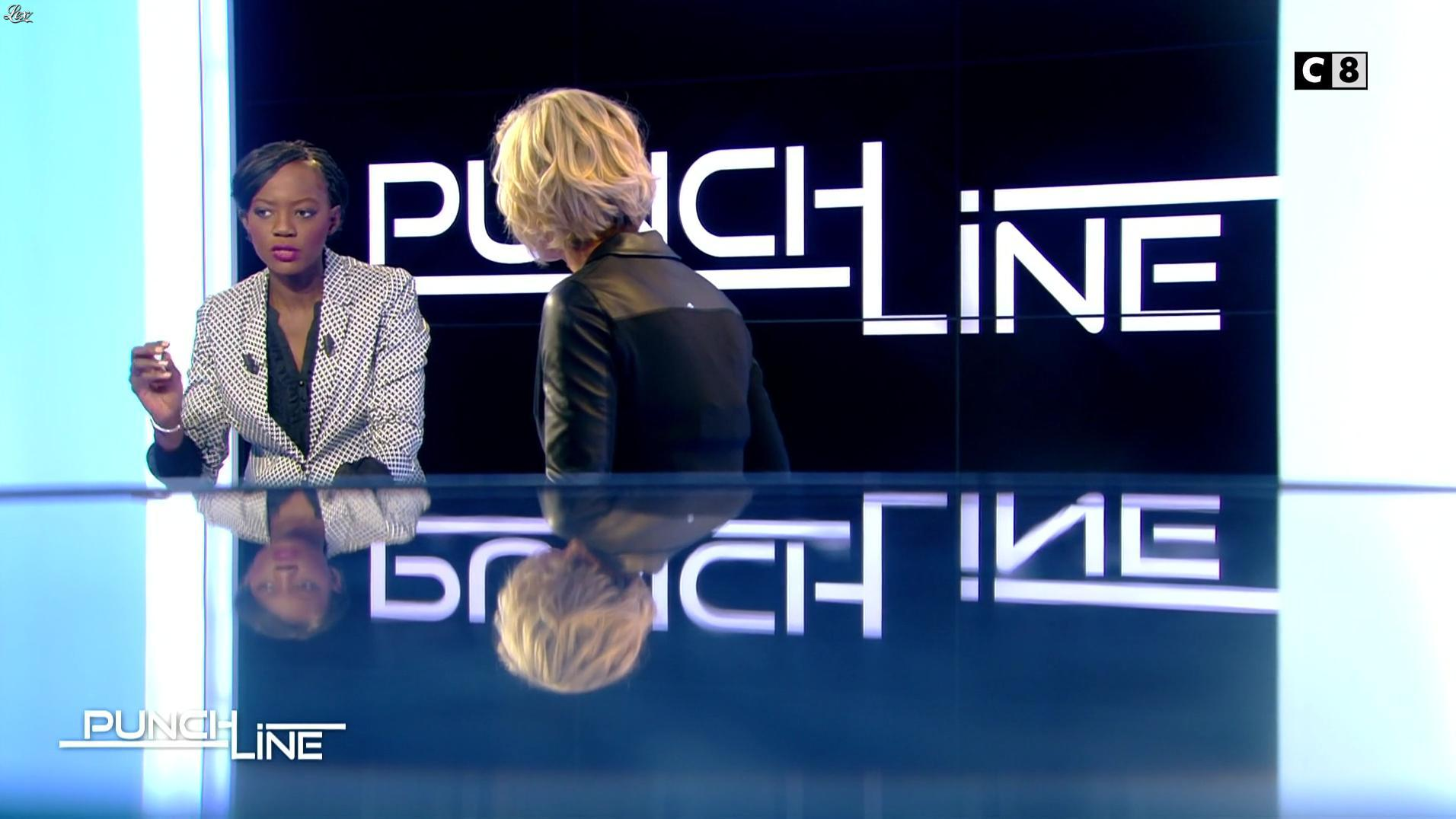 Laurence Ferrari dans Punchline. Diffusé à la télévision le 30/01/17.