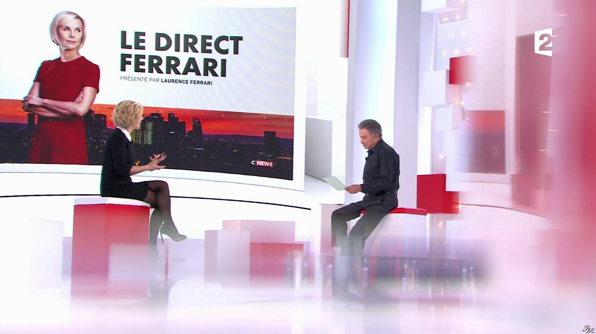 Laurence Ferrari dans Vivement la Télé. Diffusé à la télévision le 05/03/17.