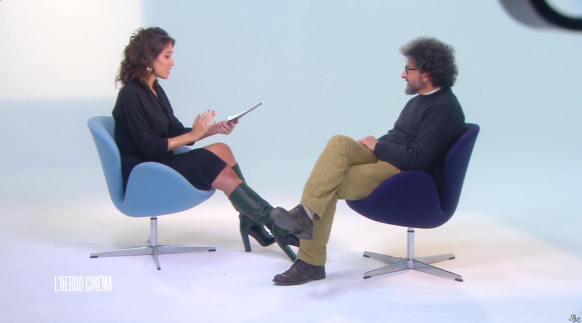 Laurie Cholewa dans l'Hebdo Cinema. Diffusé à la télévision le 29/10/16.