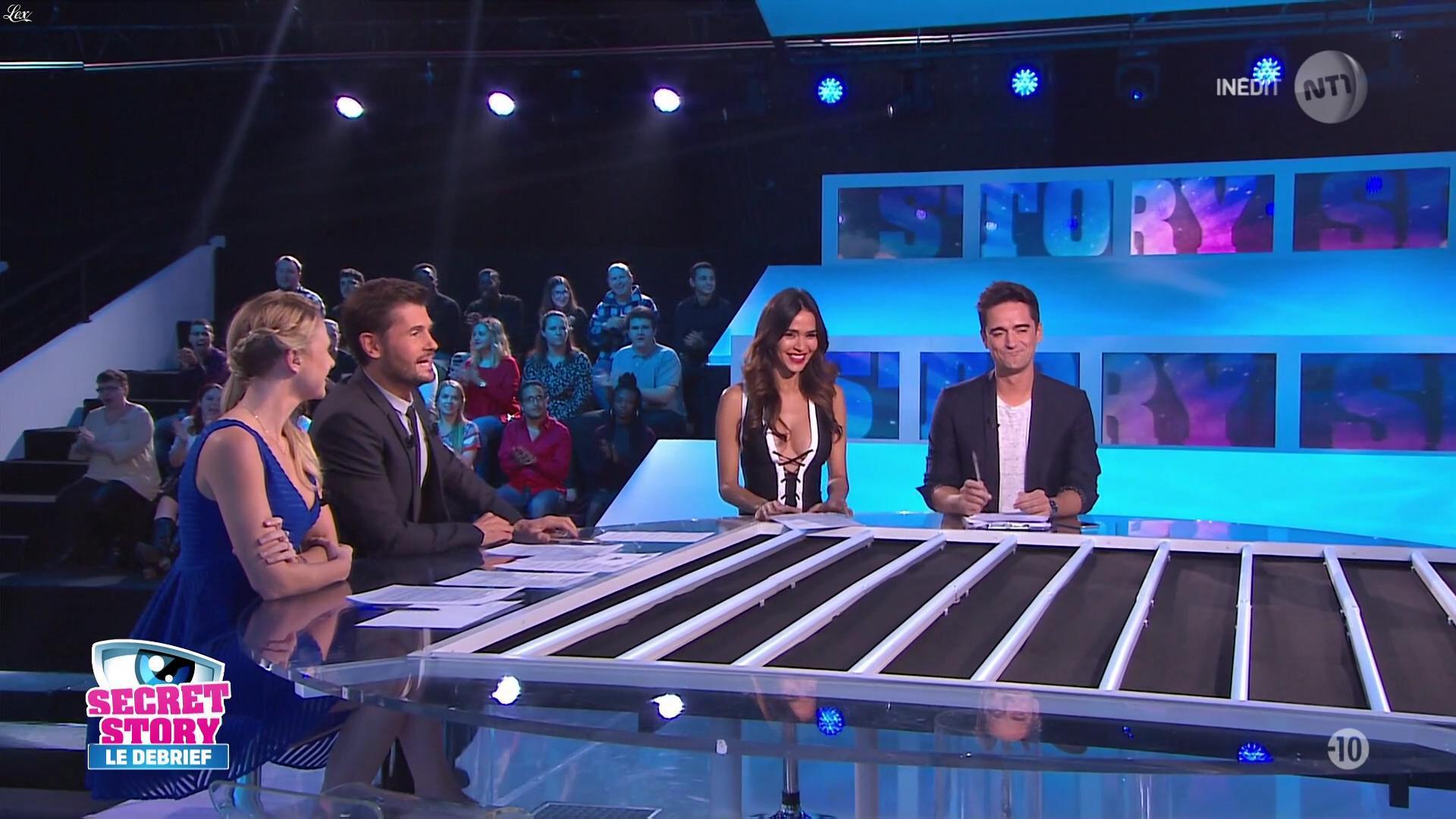 Leïla Ben Khalifa dans Secret Story le Debrief. Diffusé à la télévision le 25/10/16.