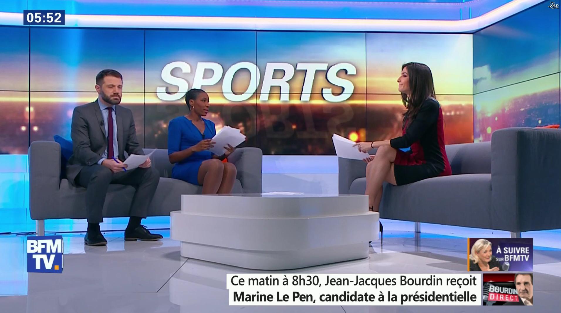Lesly Boitrelle dans Première Edition. Diffusé à la télévision le 03/01/17.