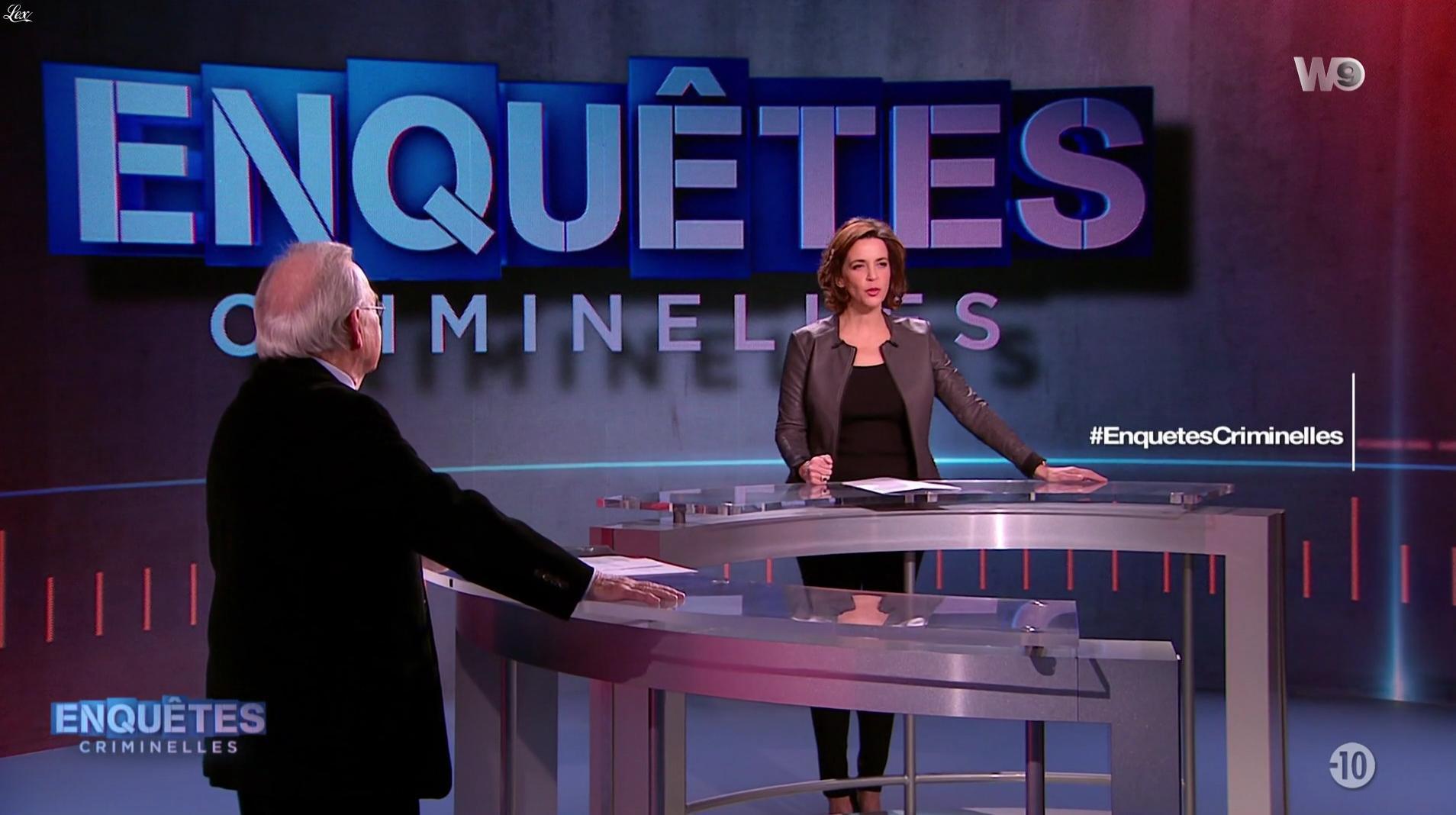 Nathalie Renoux dans Enquêtes Criminelles. Diffusé à la télévision le 11/01/17.