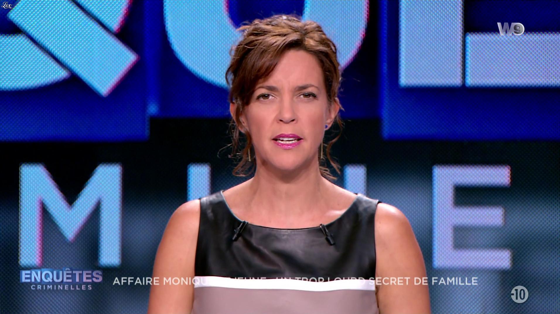 Nathalie Renoux dans Enquêtes Criminelles. Diffusé à la télévision le 26/10/16.