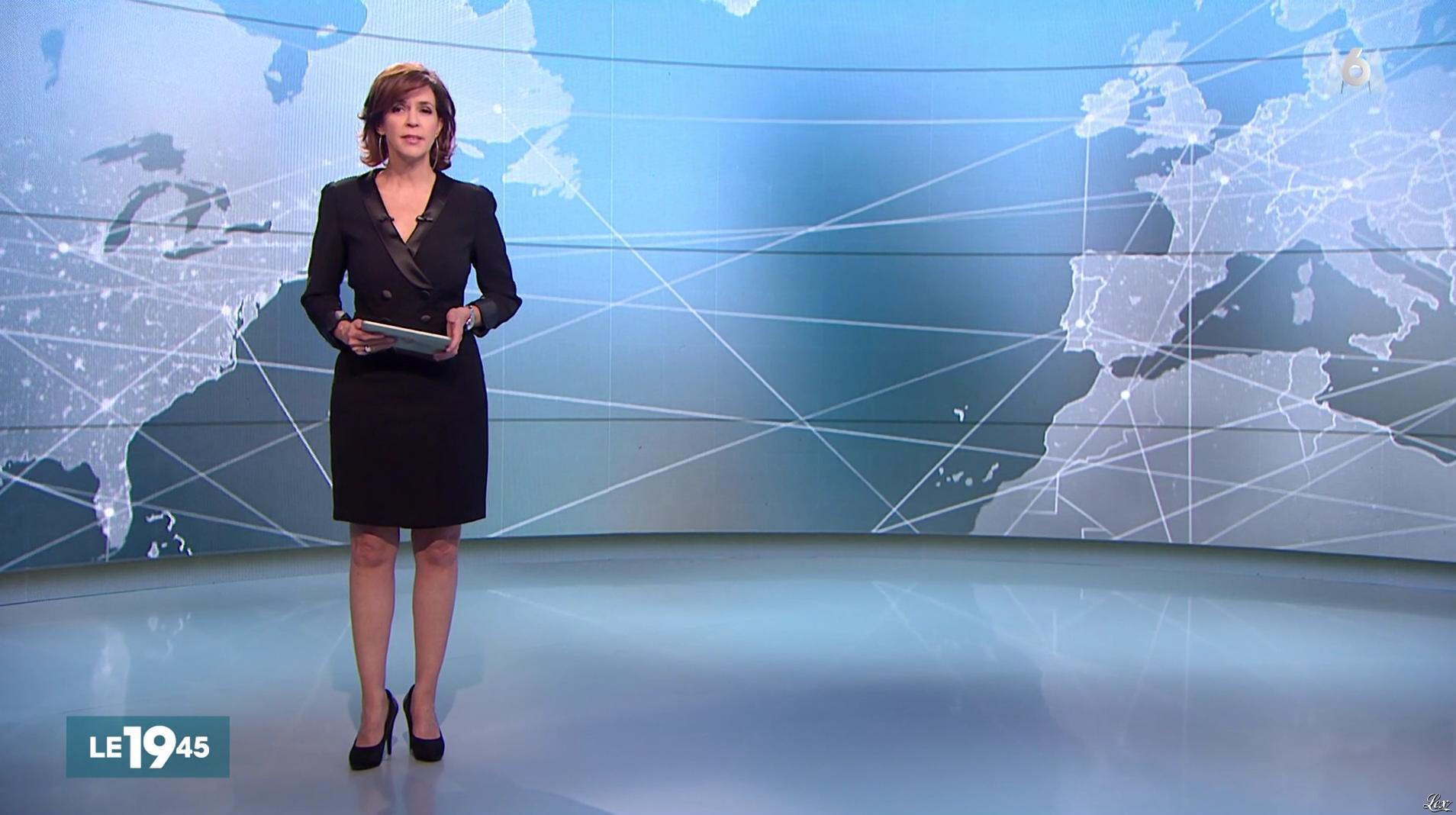 Nathalie Renoux dans le 19-45. Diffusé à la télévision le 08/01/17.