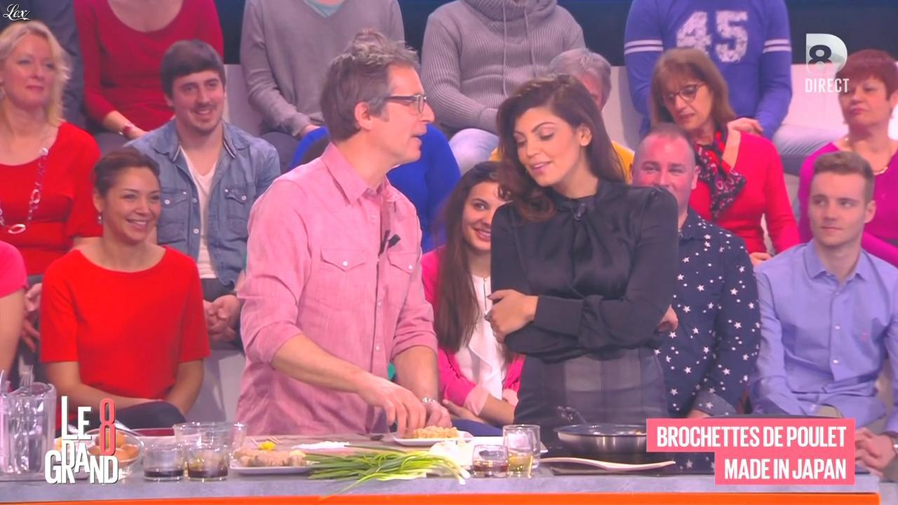 Nawell Madani dans le Grand 8. Diffusé à la télévision le 09/03/15.