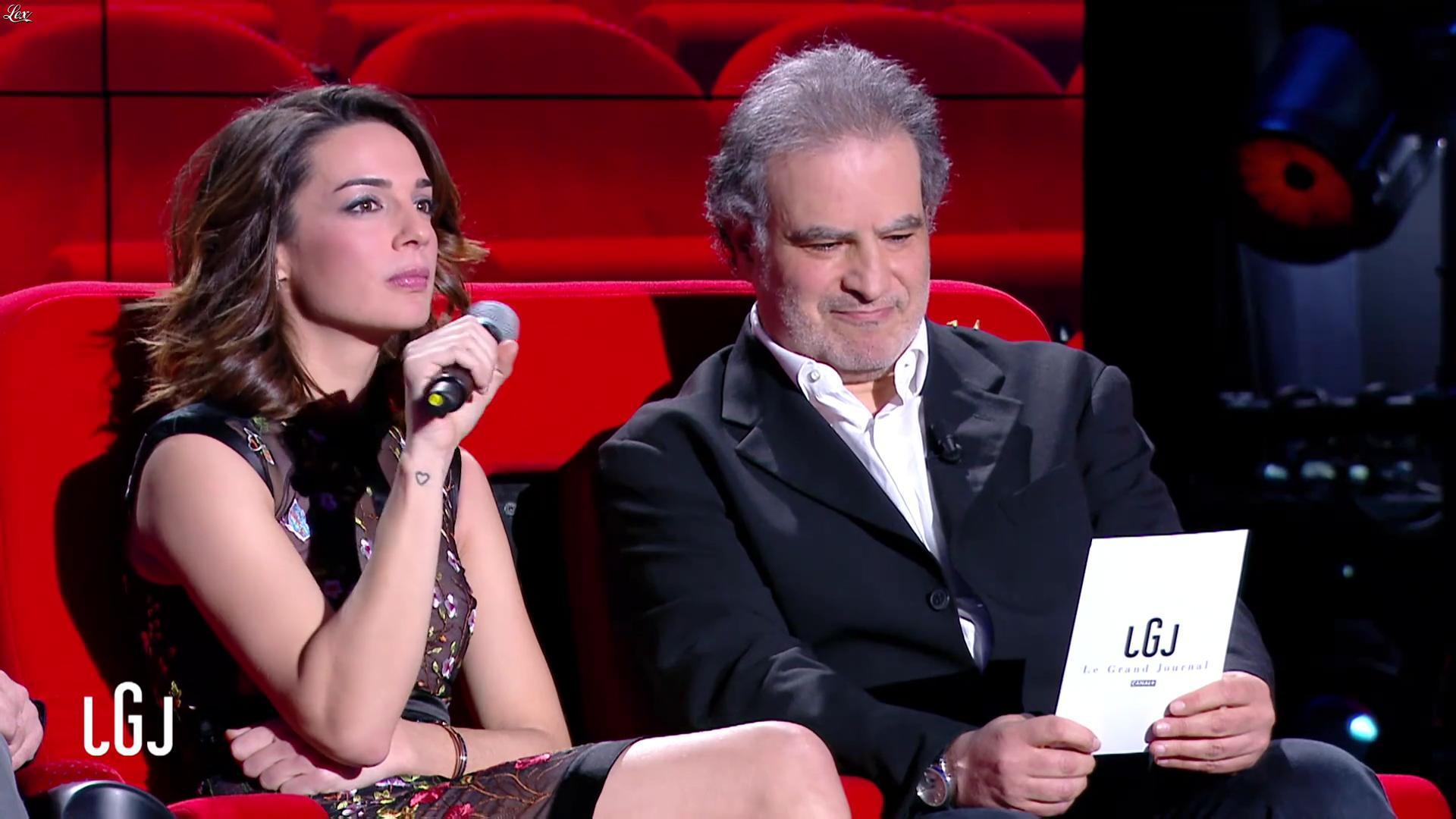Ornella Fleury dans le Grand Journal. Diffusé à la télévision le 04/01/17.