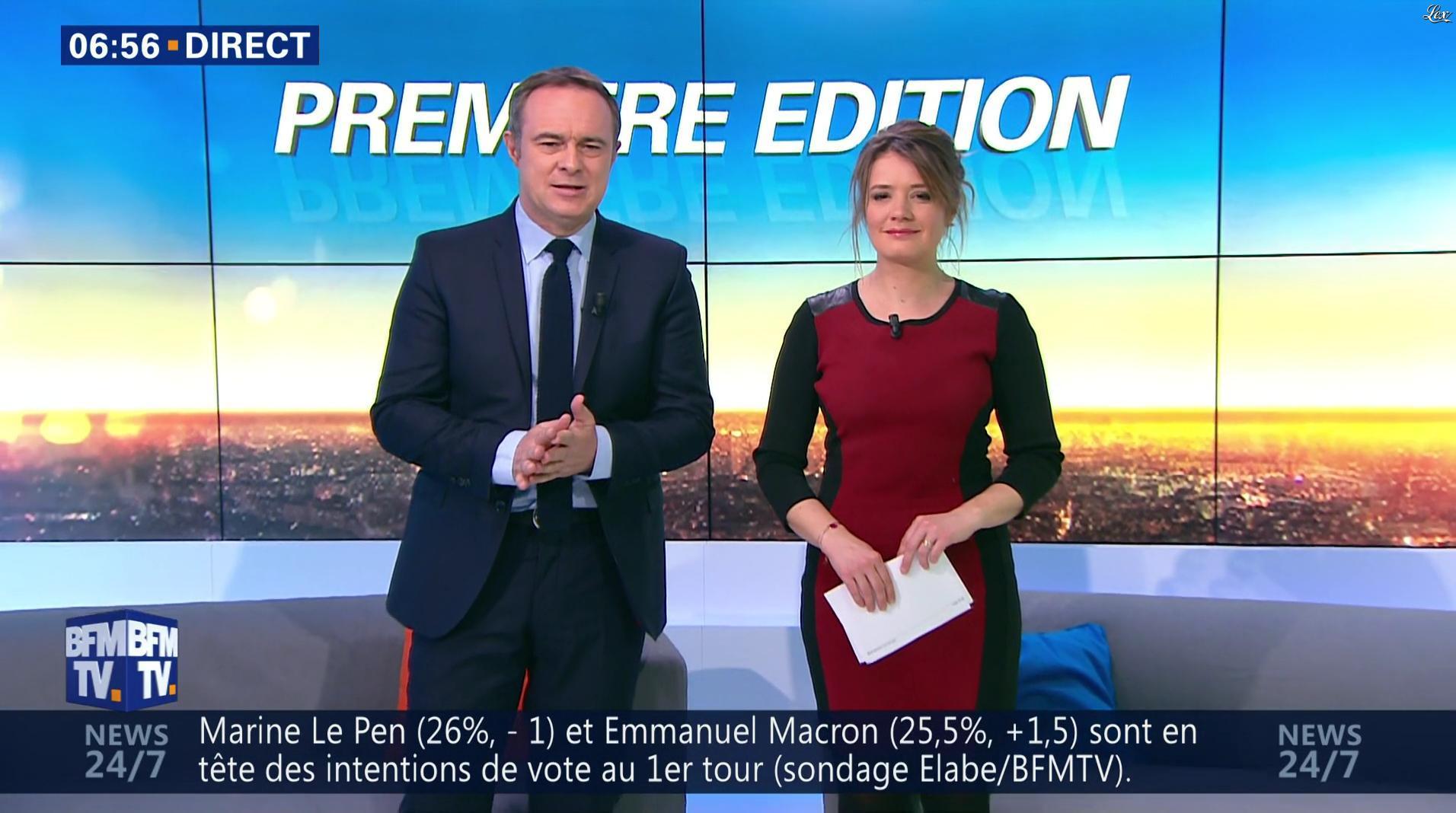 Pascale De La Tour Du Pin dans Première Edition. Diffusé à la télévision le 08/03/17.