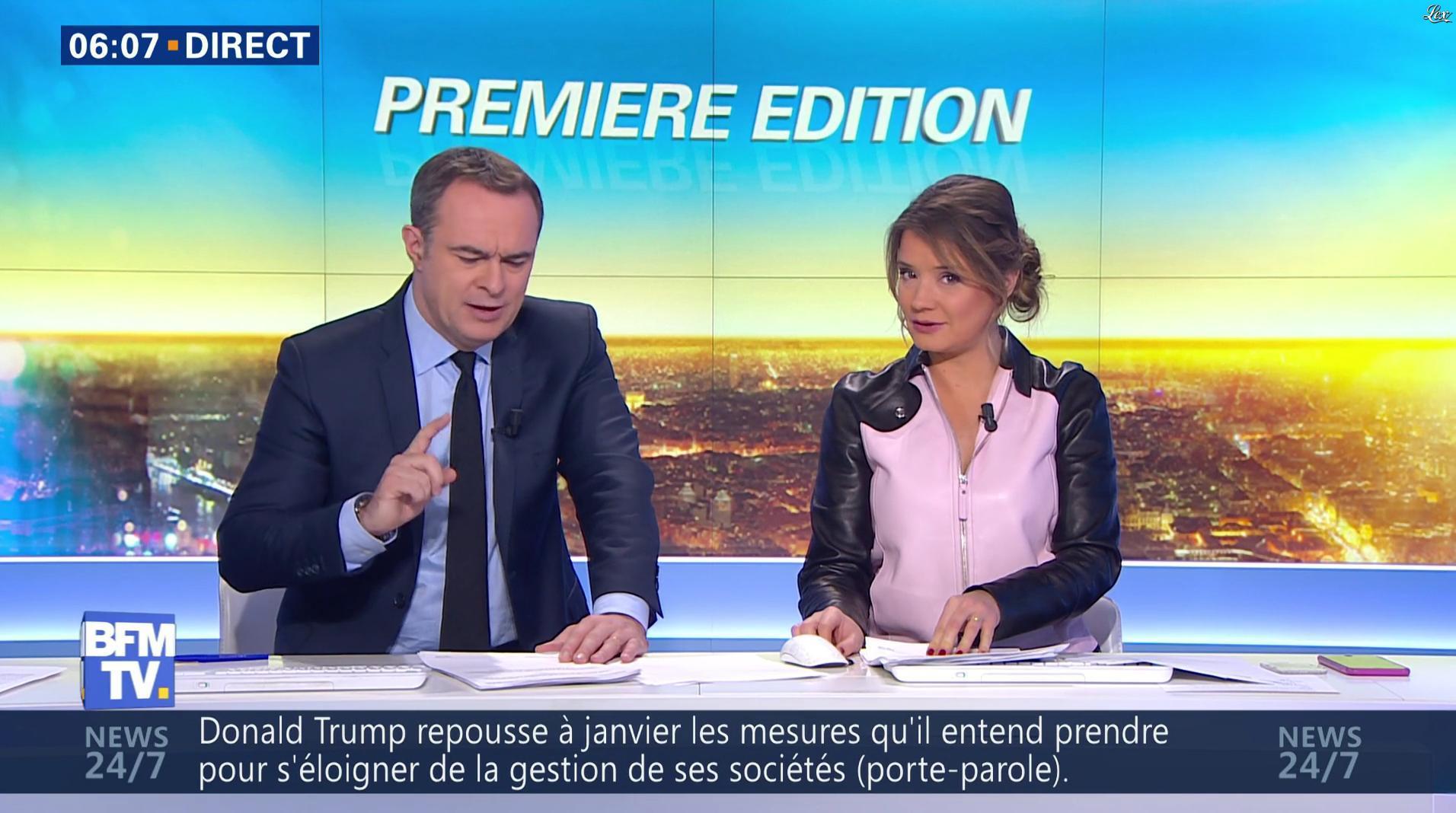 Pascale De La Tour Du Pin dans Première Edition. Diffusé à la télévision le 13/12/16.