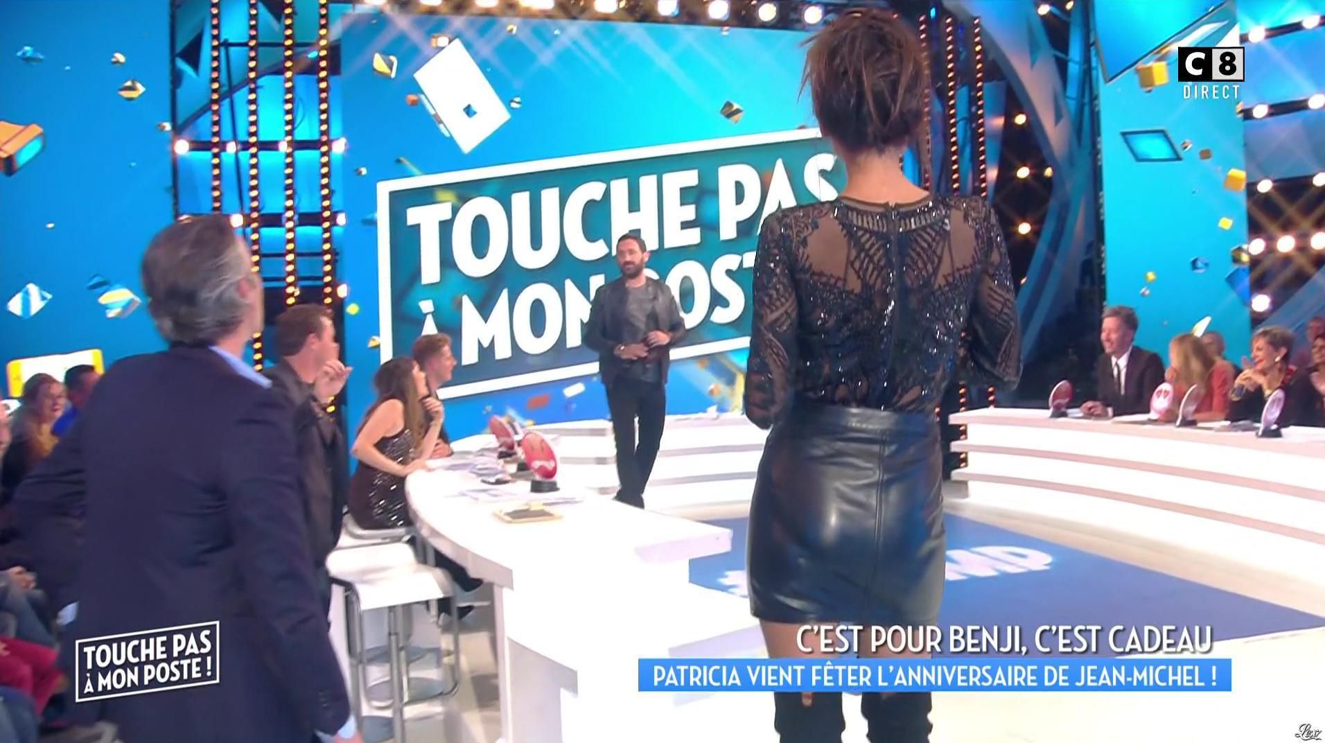 Patricia Gloria Contreras dans Touche pas à mon Poste. Diffusé à la télévision le 03/11/16.
