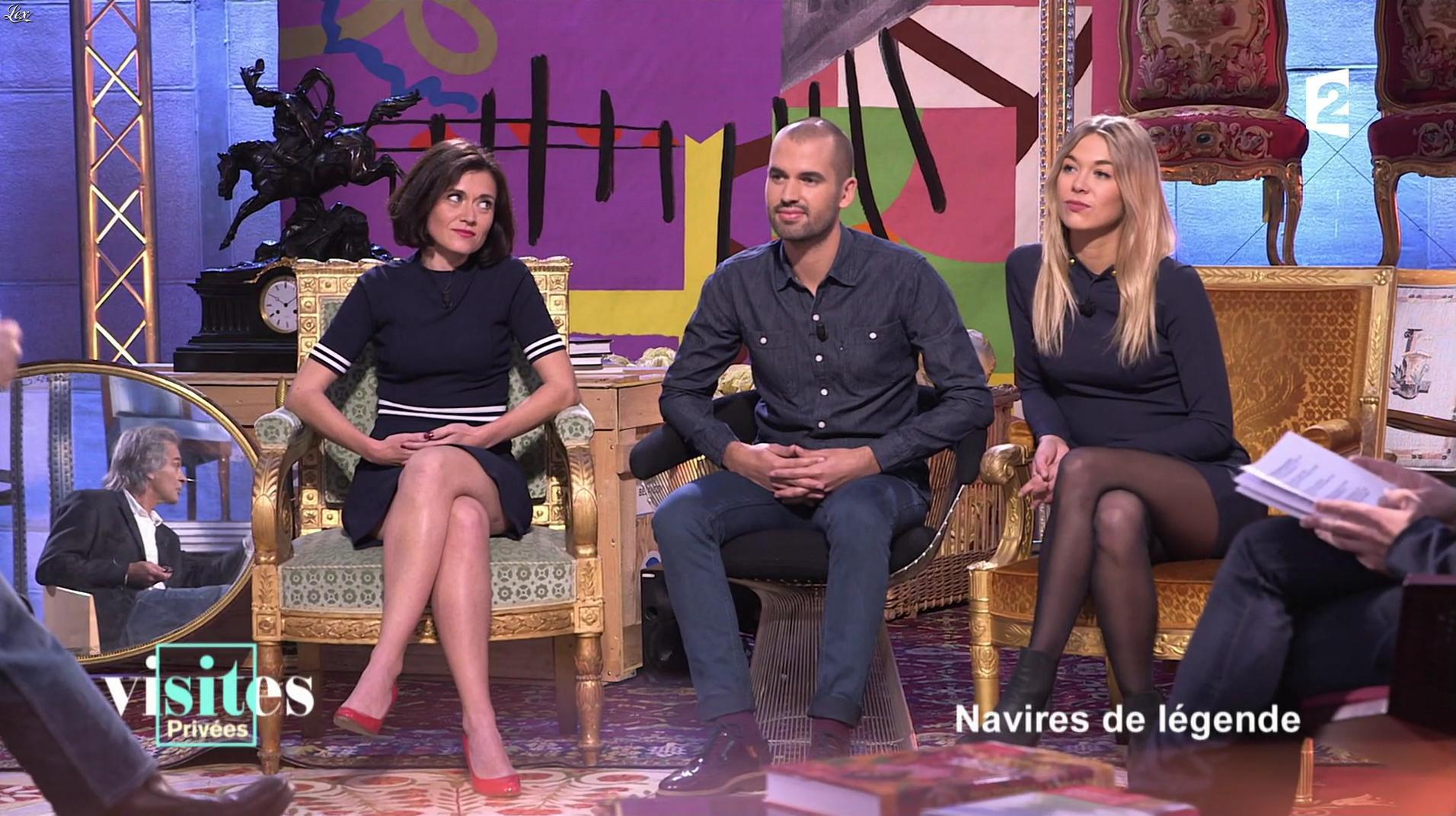Pauline Reboul dans Visites Privées. Diffusé à la télévision le 01/03/17.