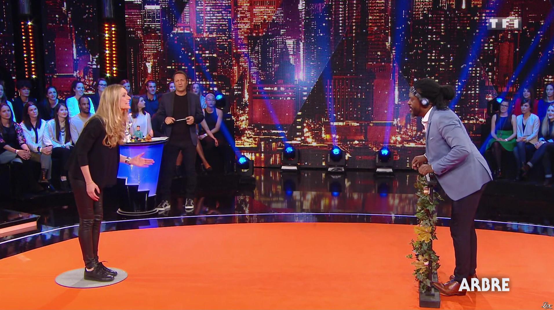 Sandrine Corman dans Vendredi, Tout Est Permis. Diffusé à la télévision le 13/01/17.