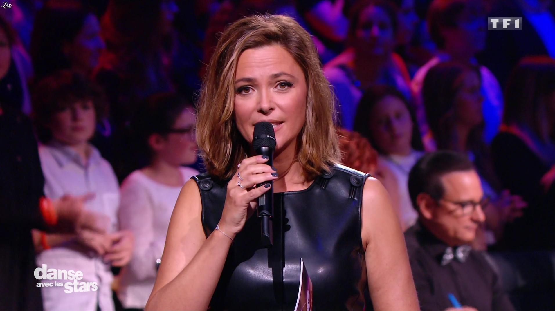 Sandrine Quétier dans Danse avec les Stars. Diffusé à la télévision le 05/11/16.