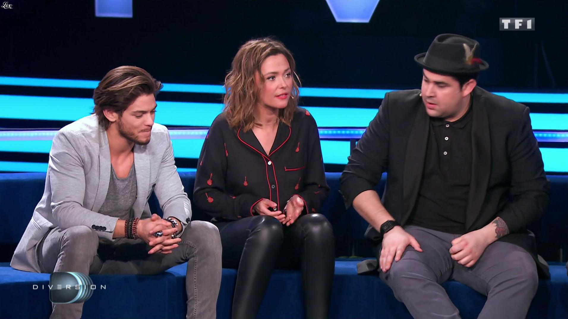 Sandrine Quétier dans Diversion. Diffusé à la télévision le 03/02/17.