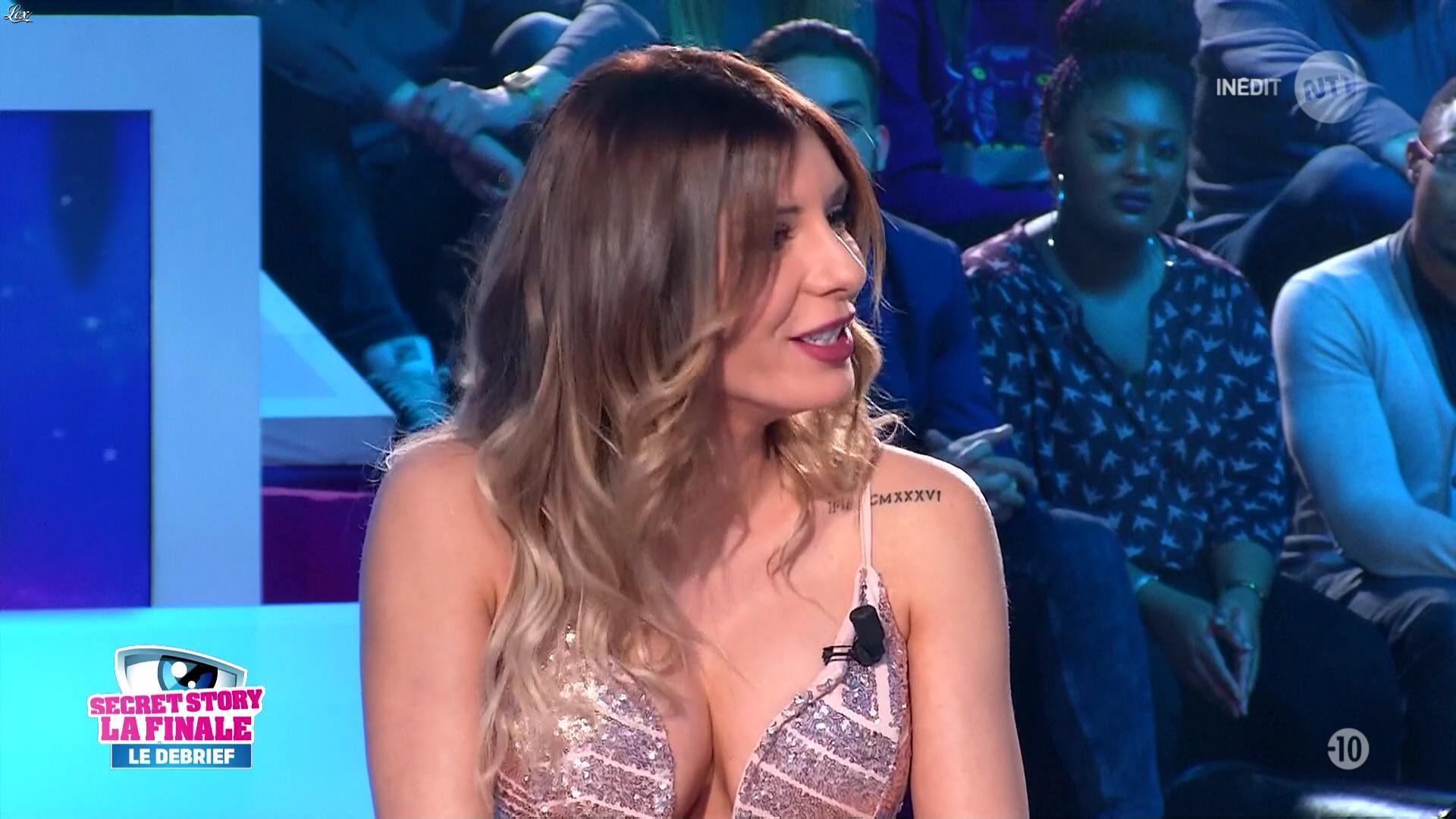 Sarah Lopez dans Secret Story. Diffusé à la télévision le 14/11/16.