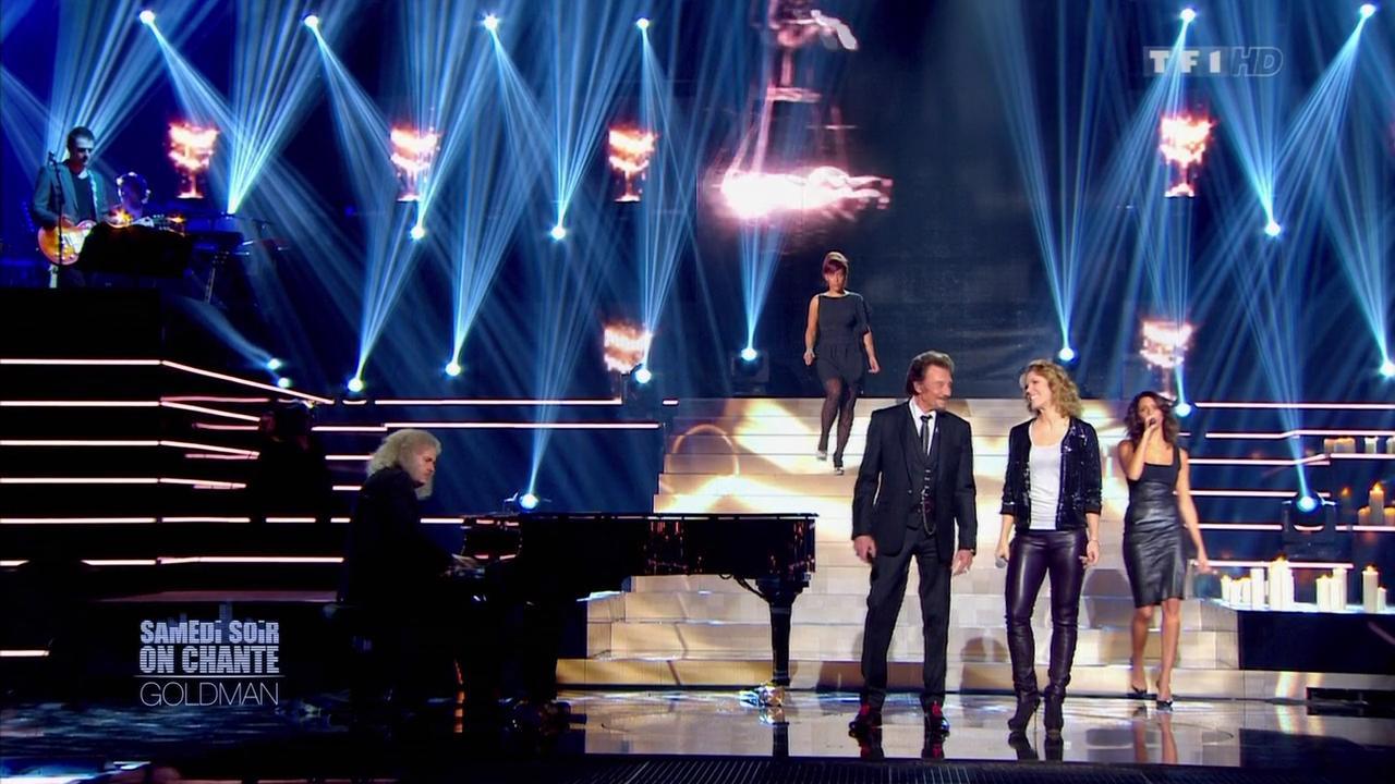 Shy m'et Lorie dans Samedi Soir On Chante Goldman. Diffusé à la télévision le 19/01/13.