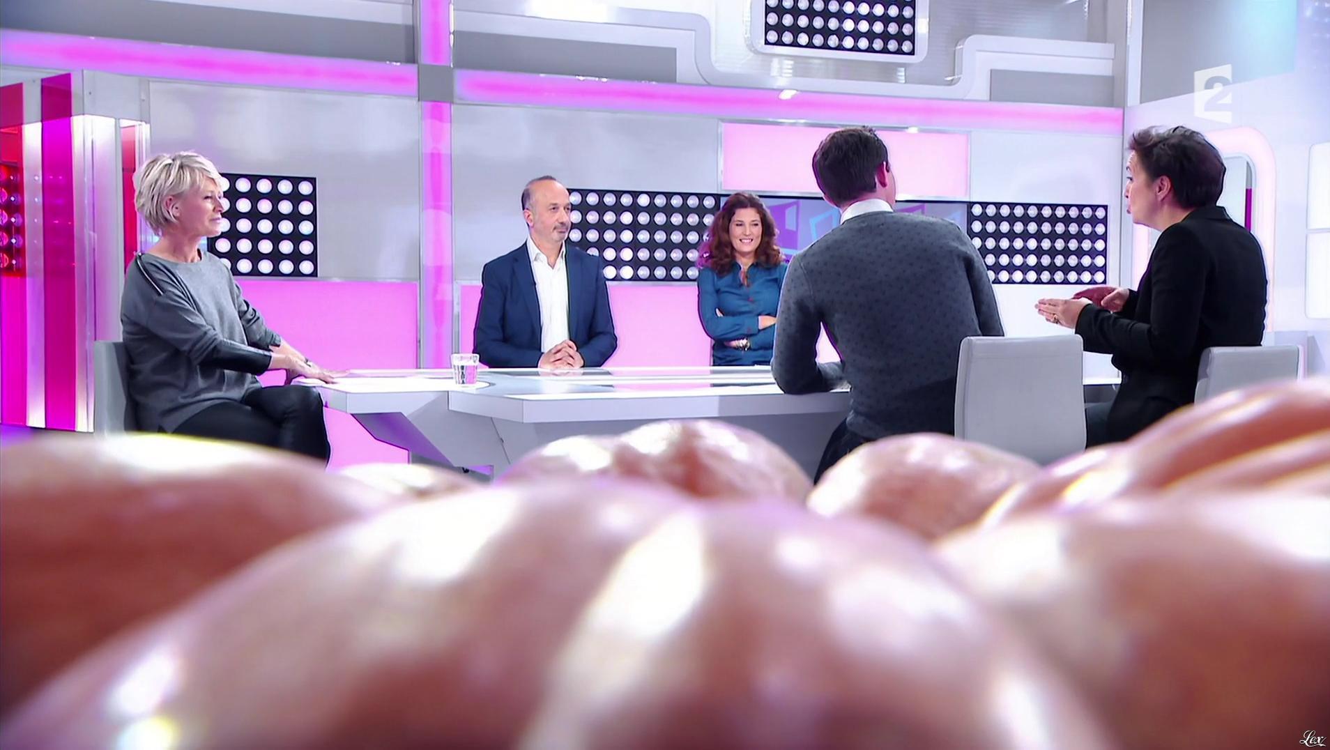 Sophie Davant dans c'est au Programme. Diffusé à la télévision le 21/11/16.