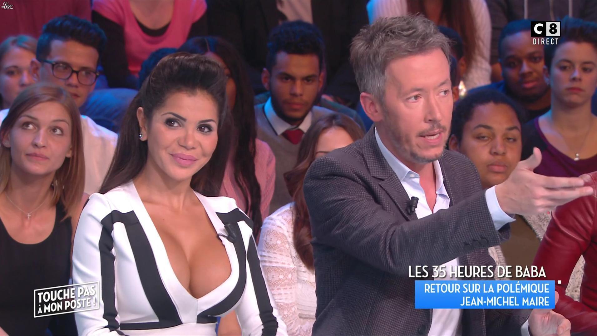 Soraya Riffi dans Touche pas à mon Poste. Diffusé à la télévision le 17/10/16.