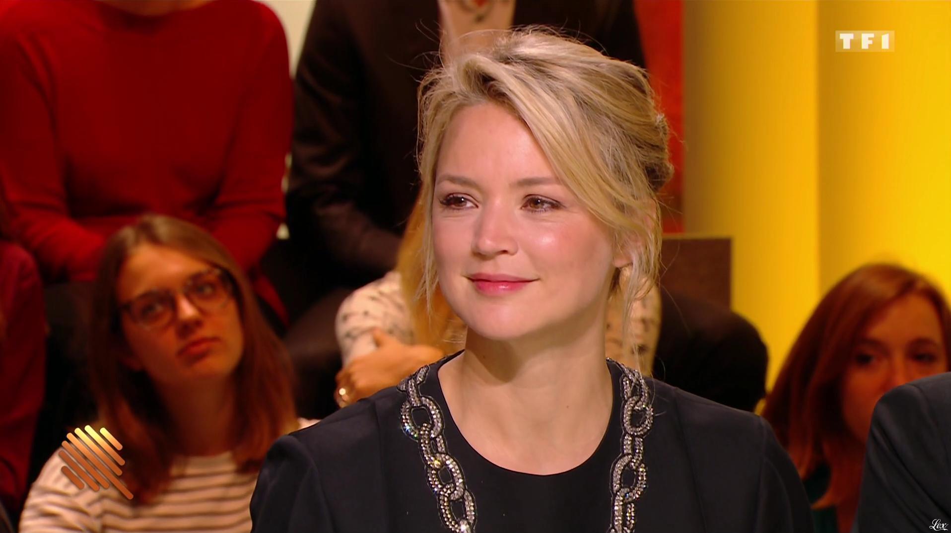 Virginie Efira dans les Q d'Or. Diffusé à la télévision le 09/12/16.