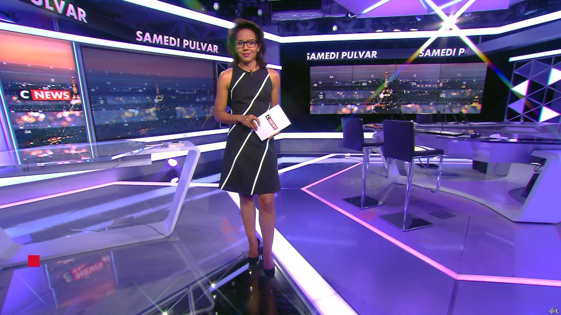 Audrey Pulvar dans Samedi Pulvar. Diffusé à la télévision le 17/06/17.
