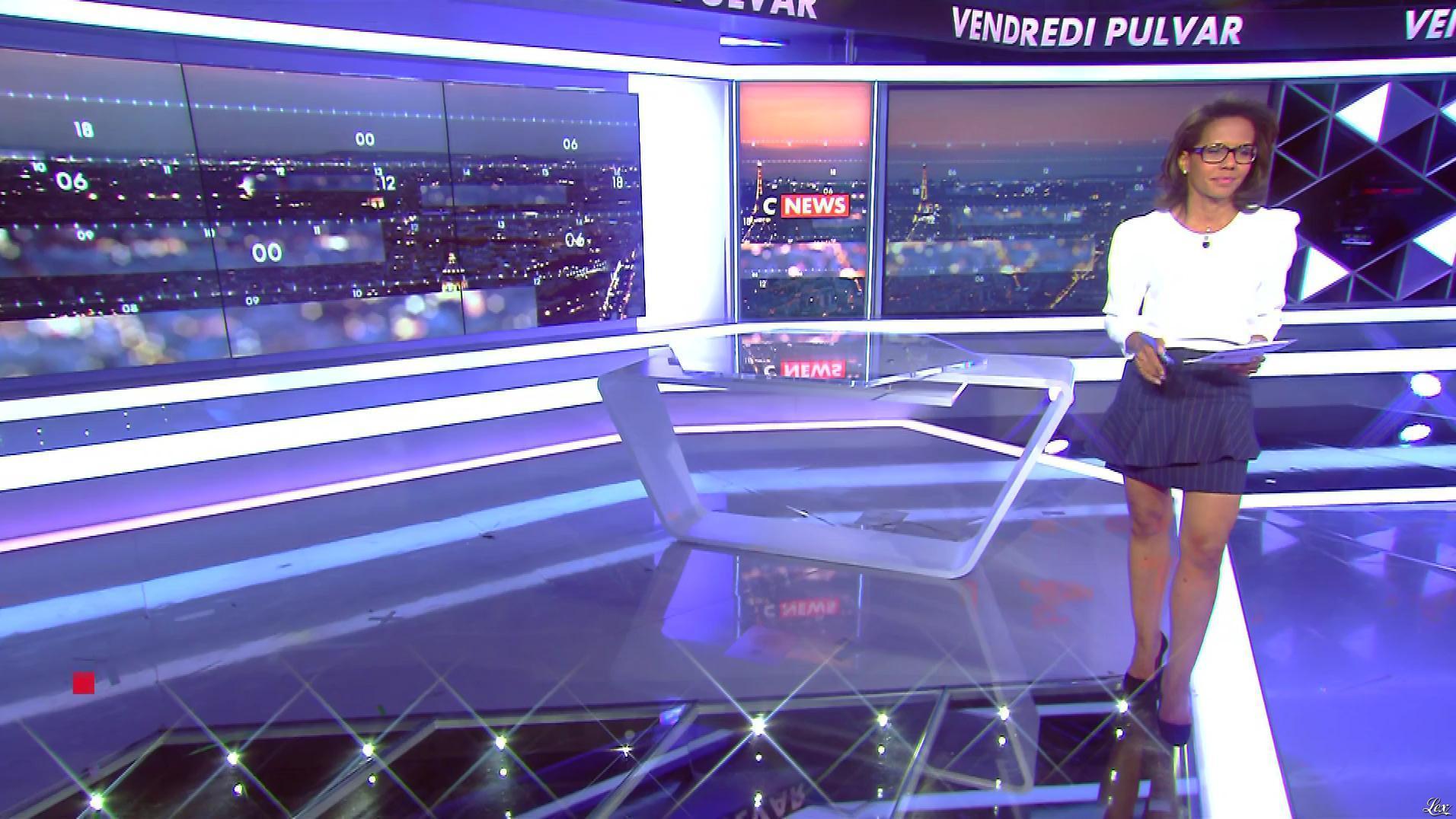 Audrey Pulvar dans Vendredi Pulvar. Diffusé à la télévision le 16/06/17.