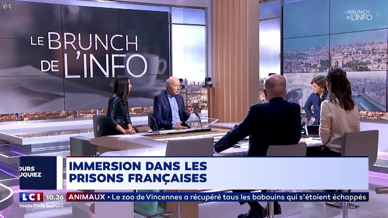 Aurelia Frescaline dans le Brunch. Diffusé à la télévision le 27/01/18.