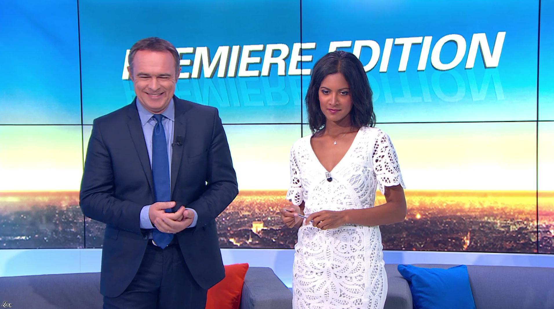 Aurélie Casse dans Première Edition. Diffusé à la télévision le 30/05/17.