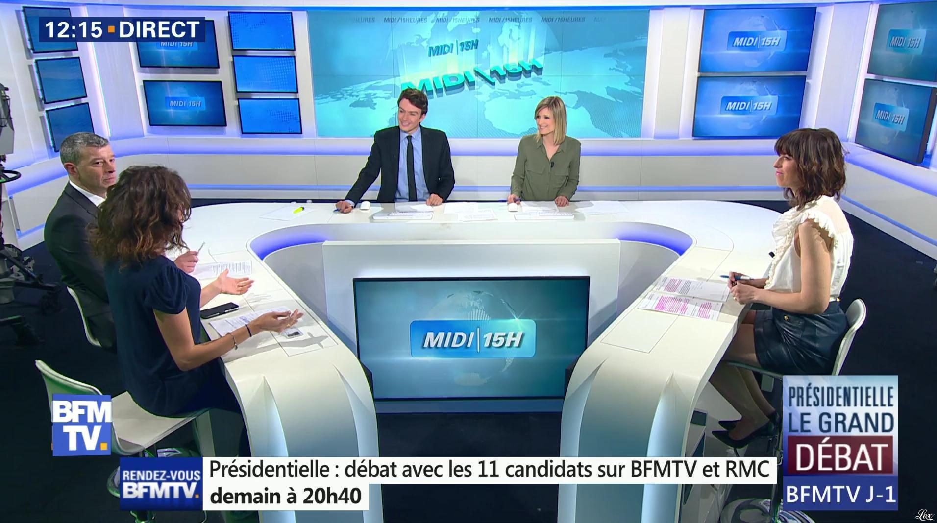Candice Mahout dans le Midi-15h. Diffusé à la télévision le 03/04/17.