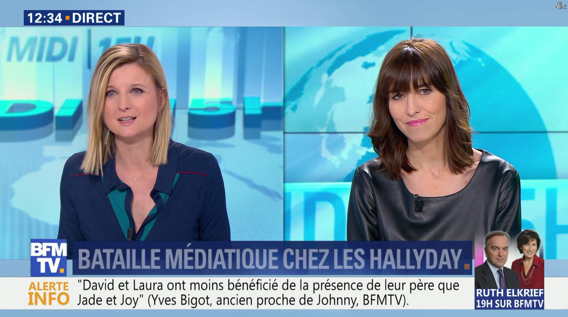 Candice Mahout dans le Midi-15h. Diffusé à la télévision le 16/02/18.
