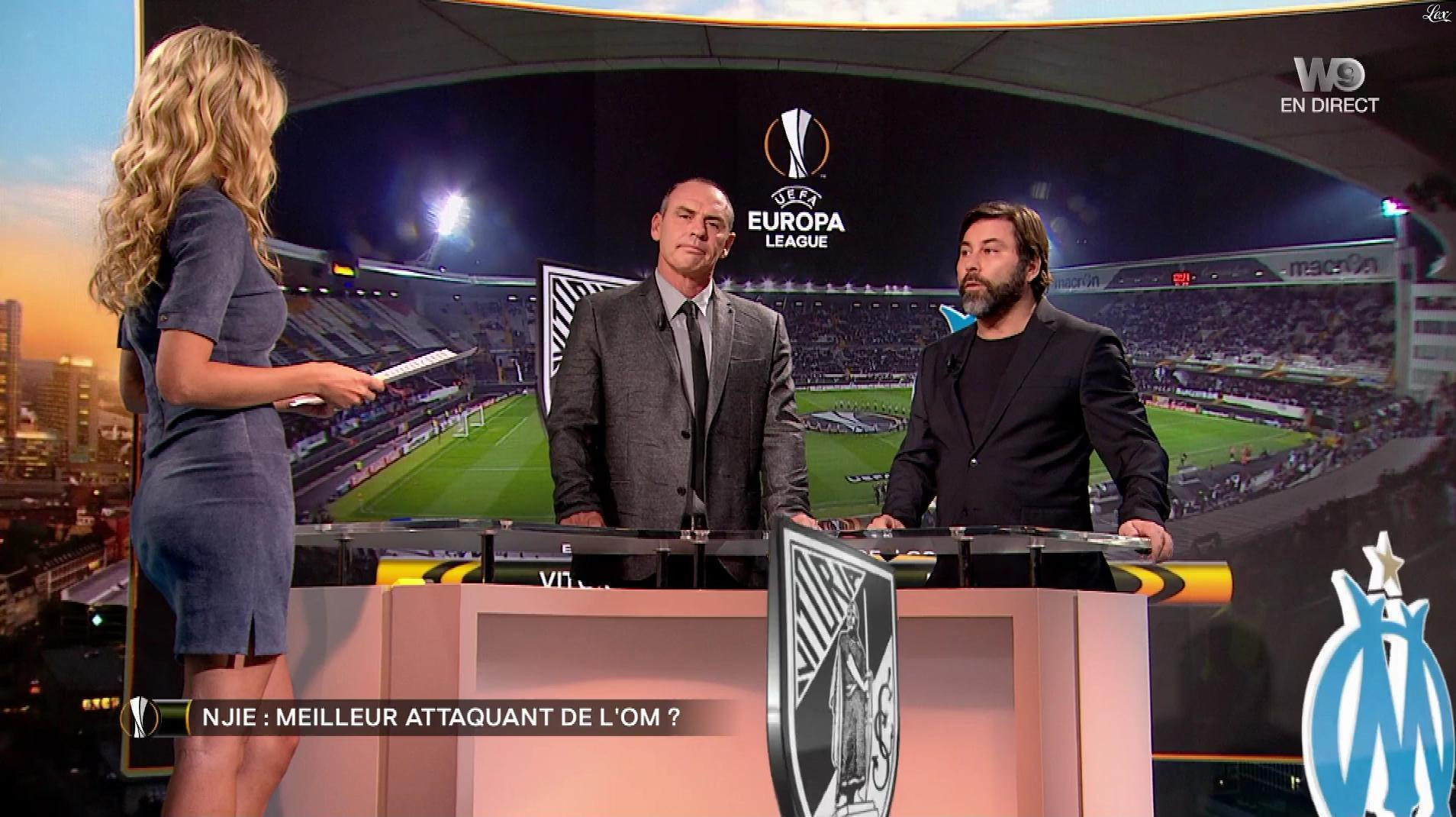 Carine Galli dans Europa League. Diffusé à la télévision le 02/11/17.