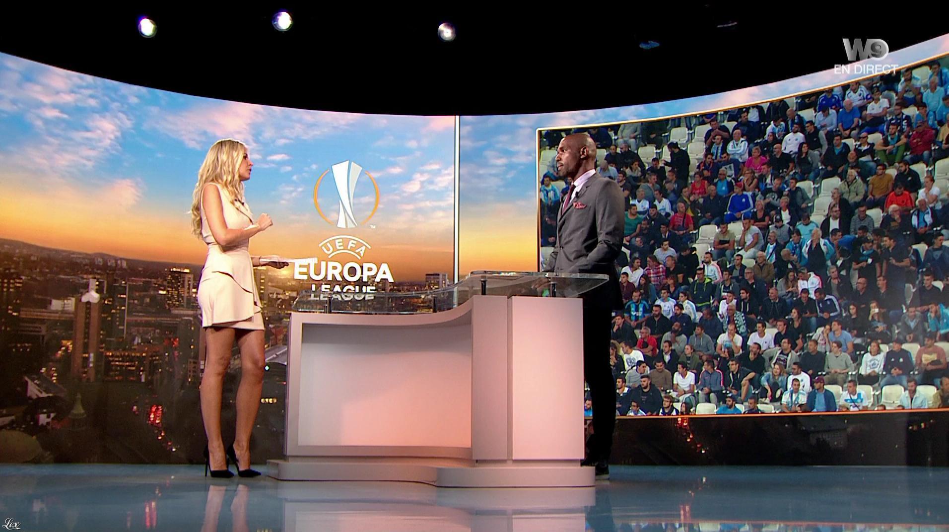 Carine Galli dans Europa League. Diffusé à la télévision le 14/09/17.