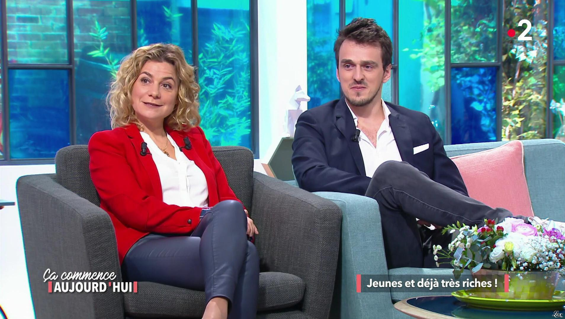 Christele Albaret dans Ça Commence Aujourd'hui. Diffusé à la télévision le 02/03/18.