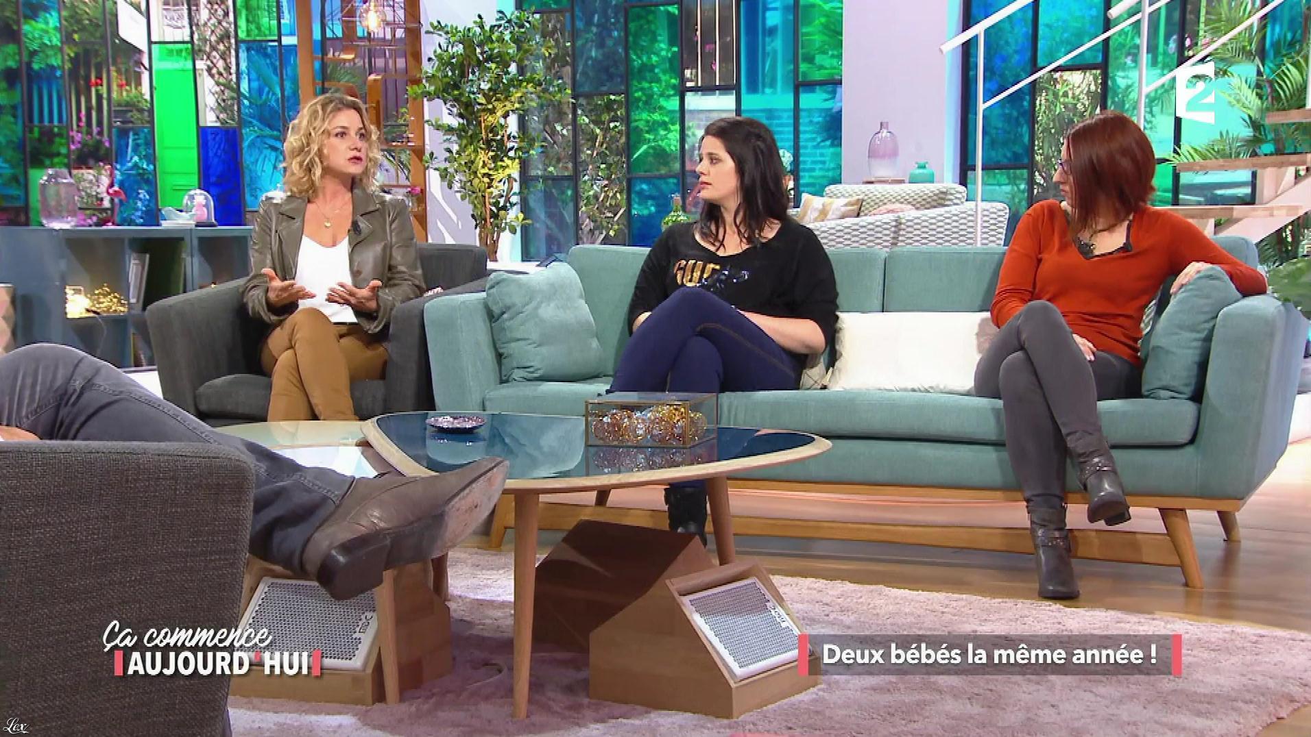 Christèle Albaret dans Ça Commence Aujourd'hui. Diffusé à la télévision le 03/11/17.
