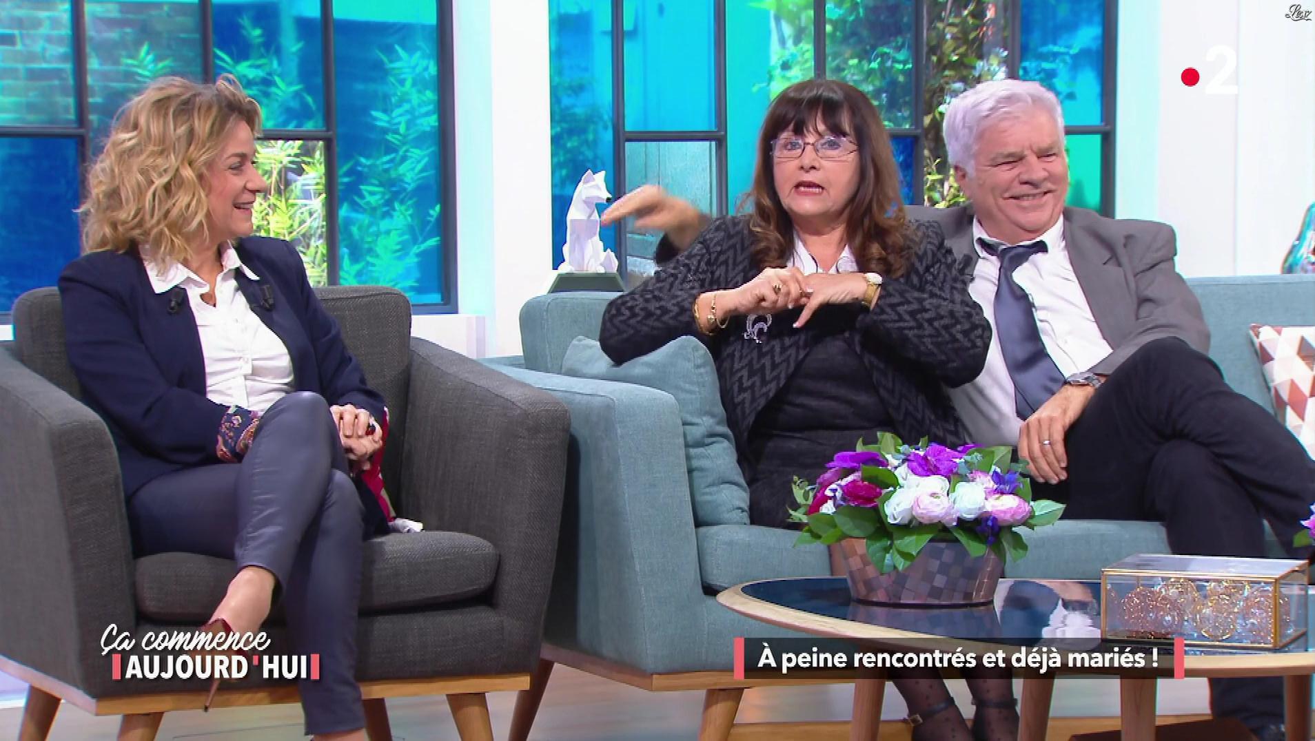 Christele Albaret dans Ça Commence Aujourd'hui. Diffusé à la télévision le 07/03/18.