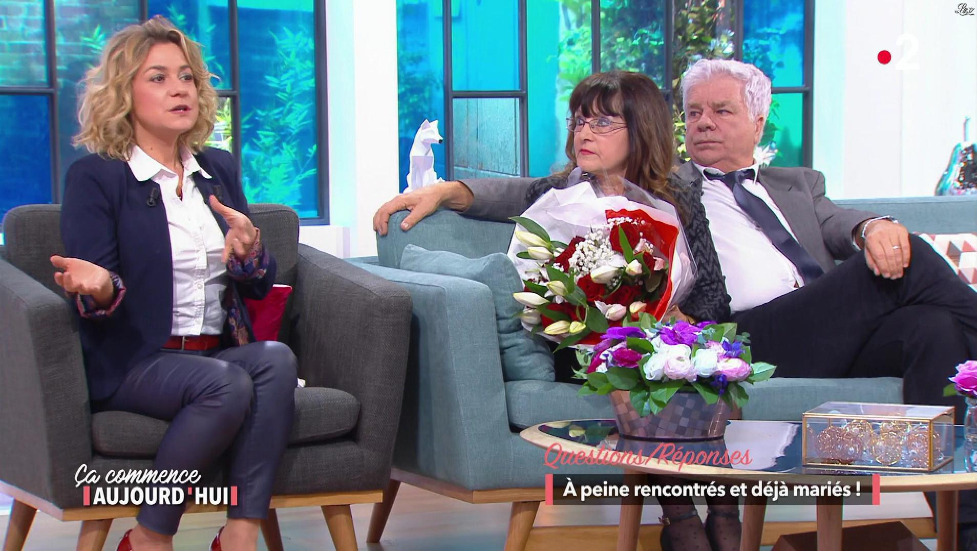 Christèle Albaret dans Ça Commence Aujourd'hui. Diffusé à la télévision le 07/03/18.