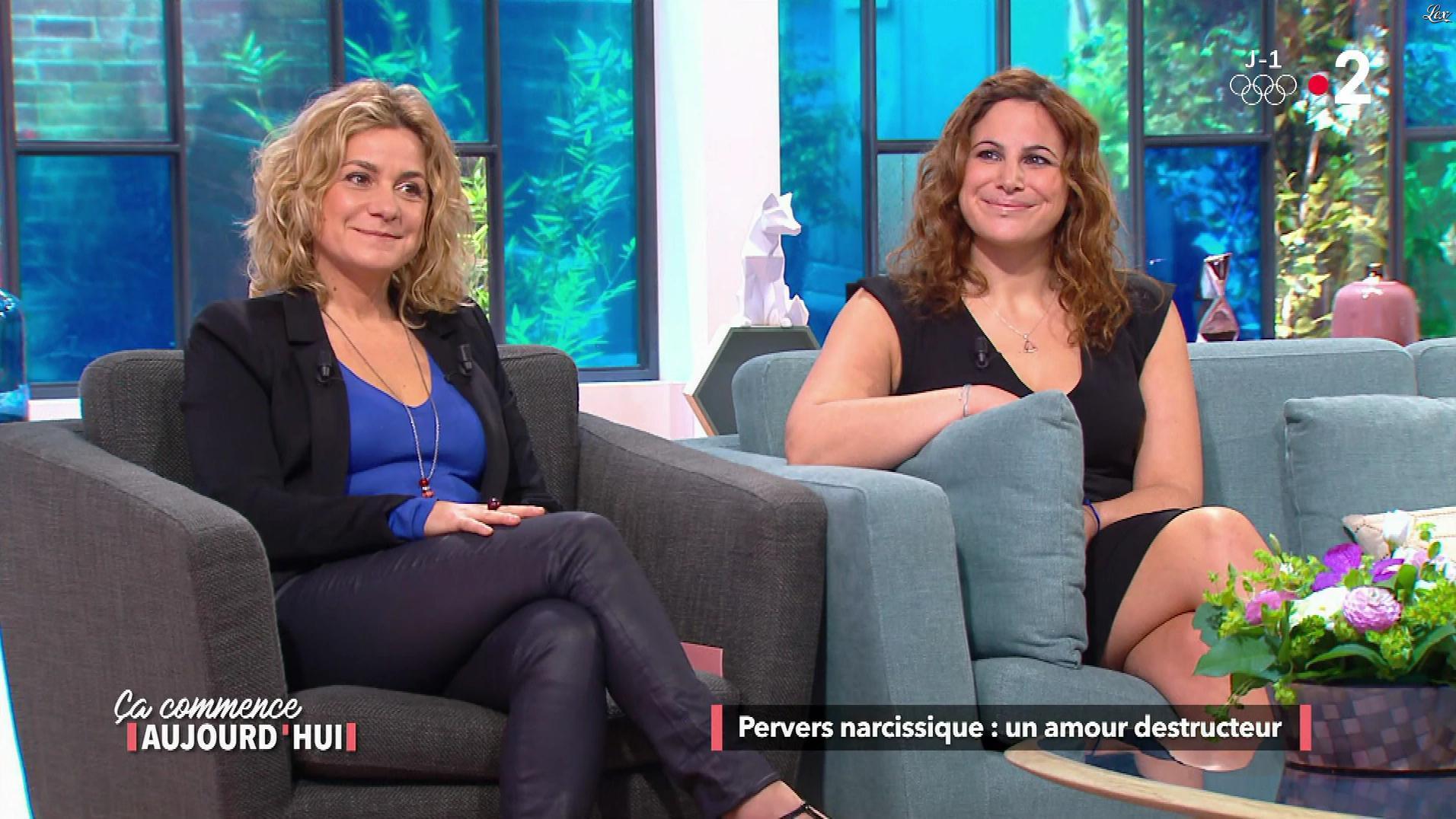 Christele Albaret dans Ça Commence Aujourd'hui. Diffusé à la télévision le 08/02/18.