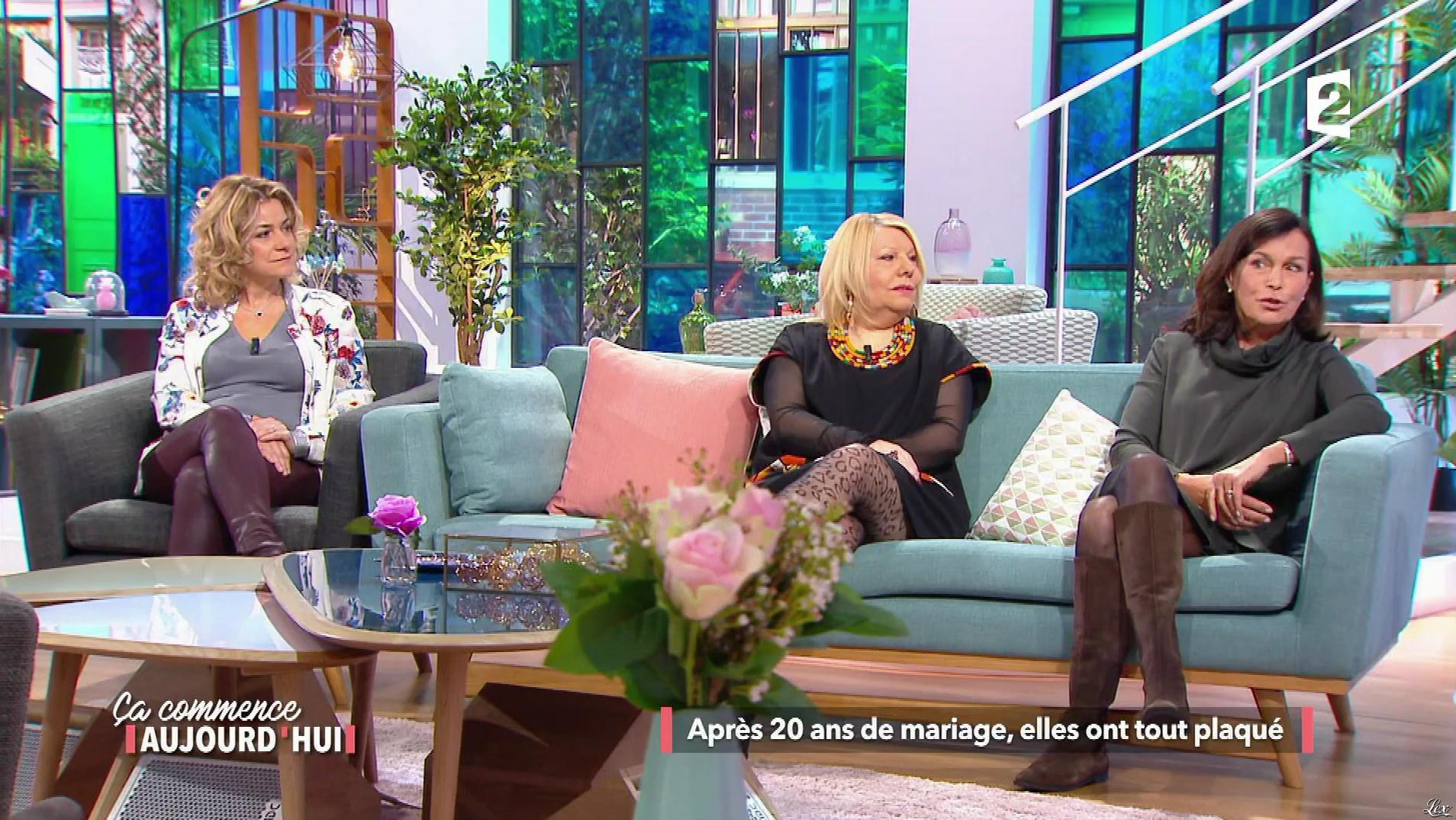Christele Albaret dans Ça Commence Aujourd'hui. Diffusé à la télévision le 13/11/17.
